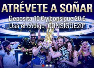 Бонусы на pokerstars.es